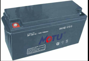 Solar Energy Rechargeable Lead Acid Batteries With 15 Years Life Span